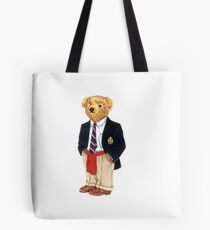 Ralph Lauren Polo Bear  Tote Bag