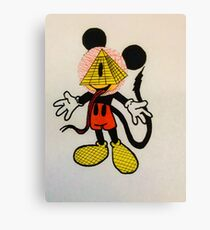 Illumi-Mickey Canvas Print