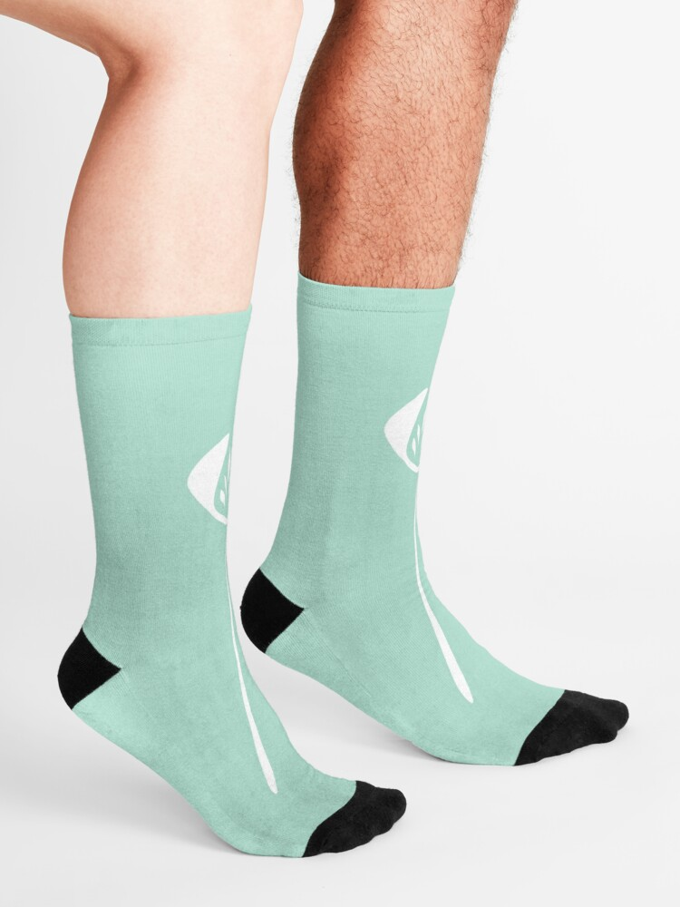 Women Men Tulips On Light Green Pattern Cushion Ankle Socks
