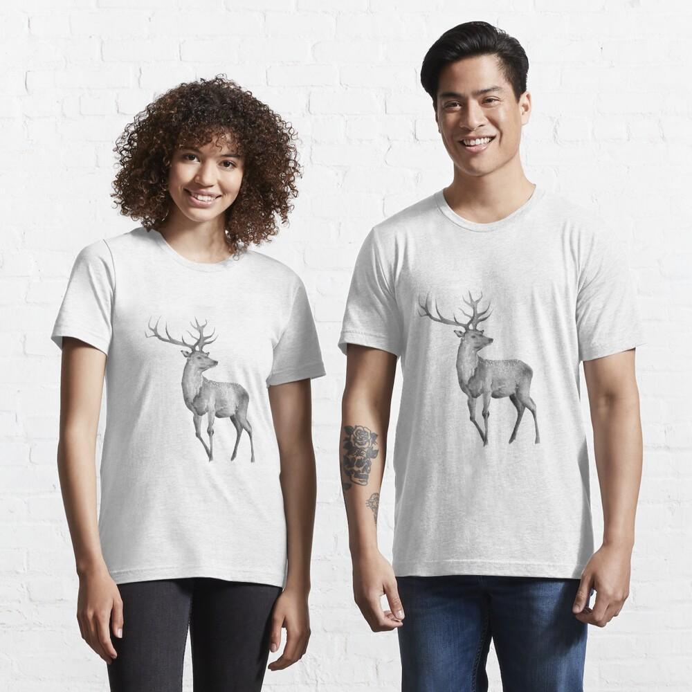Watercolor Deer Essential T-Shirt