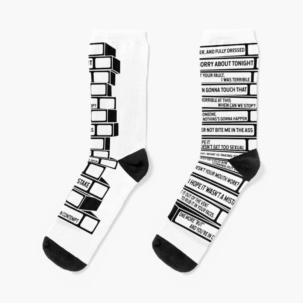 B'99 Sex Tapes Socks
