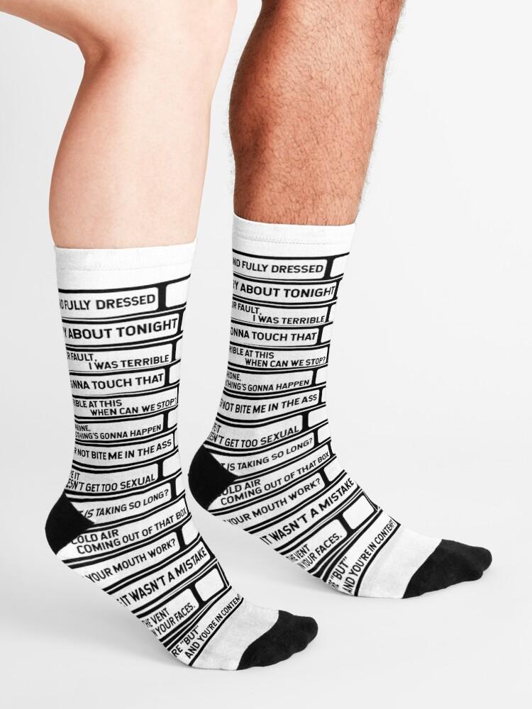 Alternate view of B'99 Sex Tapes Socks