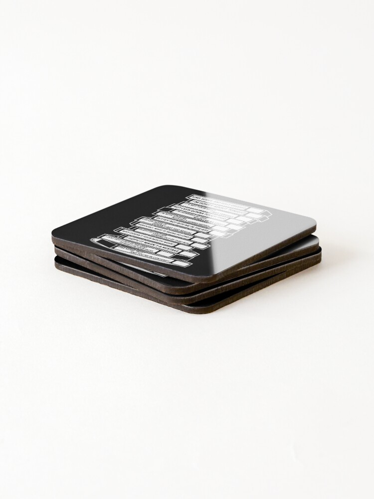 Alternate view of B'99 Sex Tapes Coasters (Set of 4)