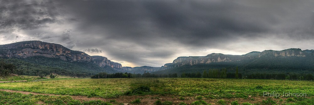 A Path well Travelled - Capertee Valley Panorama (105 Exposures Panorama) The HDR Experience by Philip Johnson
