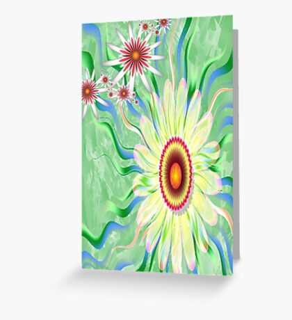 Early Spring Blooms Greeting Card