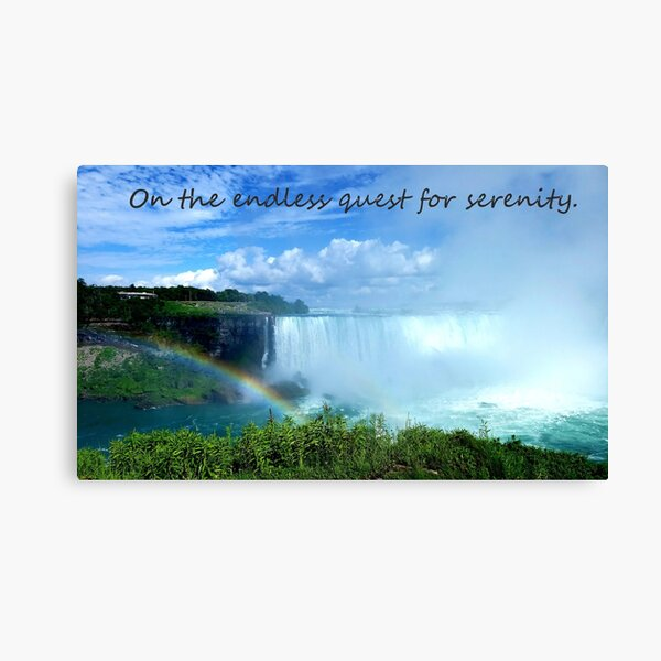Quest for Serenity Canvas Print