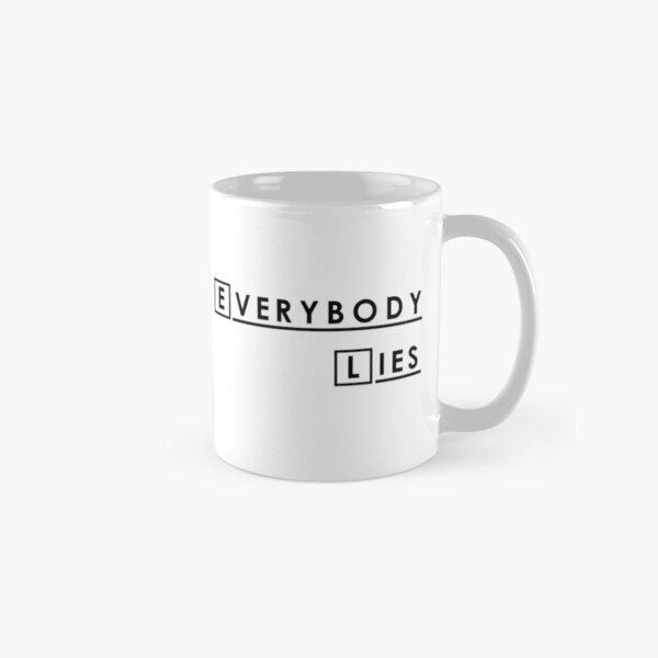 House MD Everybody Lies Hugh Laurie Classic Mug