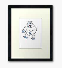 Rudolph the Red-Nosed Reindeer The Bumble Monster Framed Print