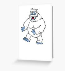 Rudolph the Red-Nosed Reindeer The Bumble Monster Greeting Card