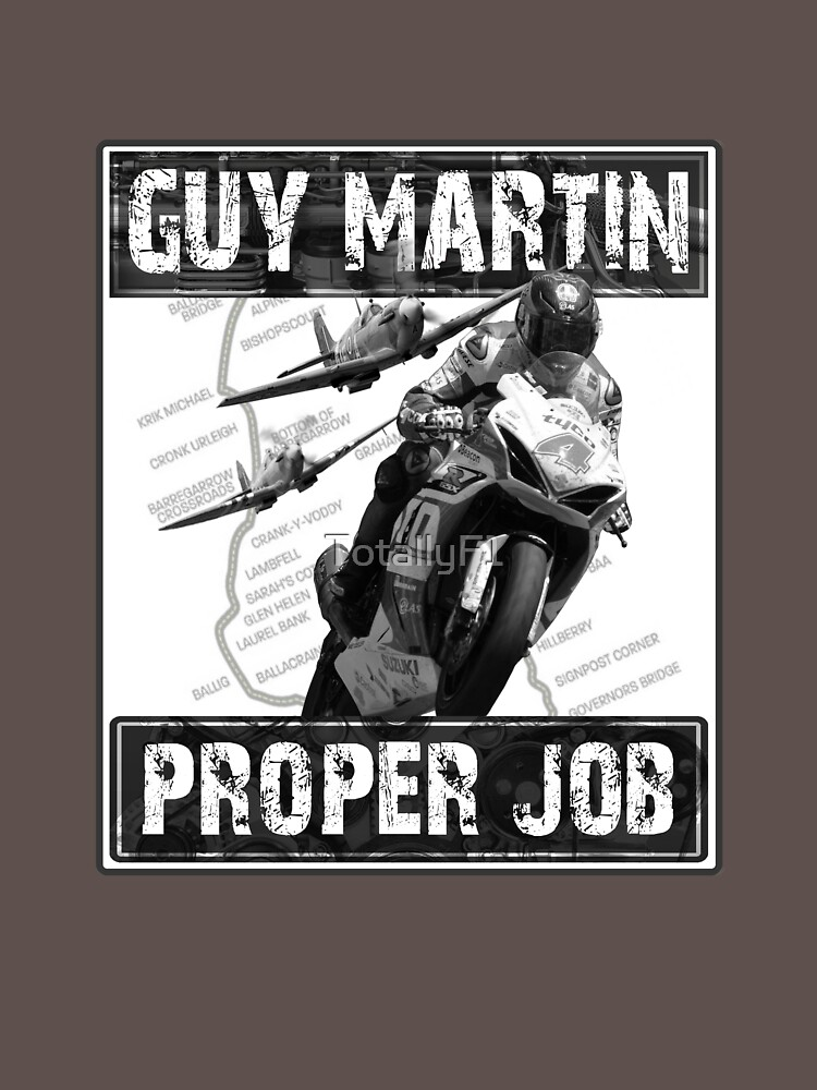 Guy Martin 'Proper Job' design | Unisex T-Shirt