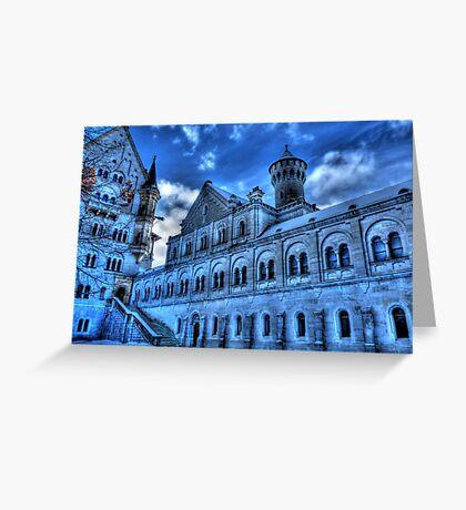 Neuschwanstein Knight's House Greeting Card
