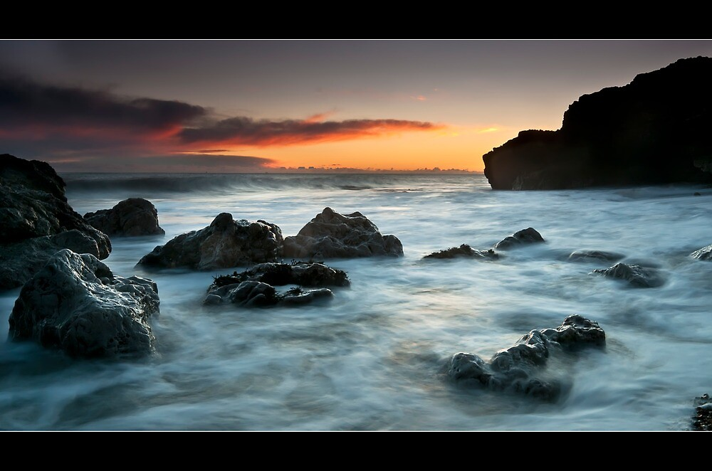 Rocky Morning by james  thow