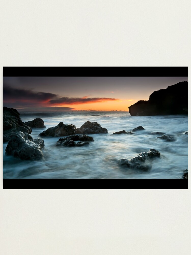 Alternate view of Rocky Morning Photographic Print