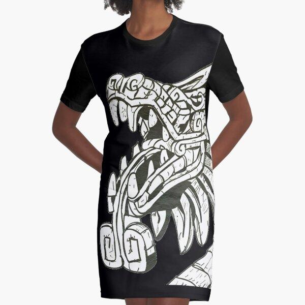 Quetzalcoatl  Graphic T-Shirt Dress