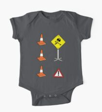 Road Signs Set #2 One Piece - Short Sleeve