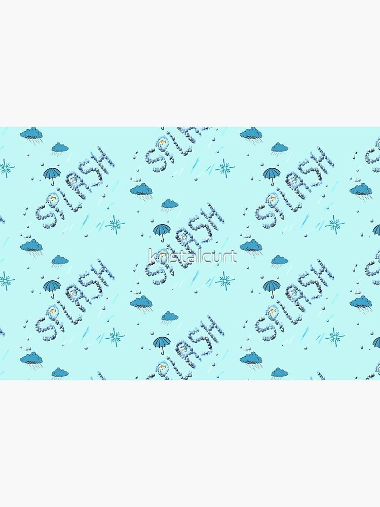 A Splash of Blue by kristalcurt