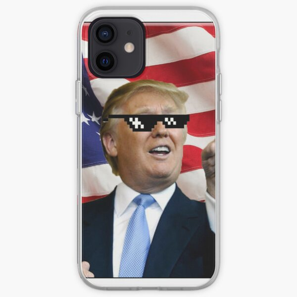 Donald Trump Deal With It iPhone Soft Case