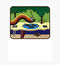 Atari Activision Pitfall Harry Photographic Print