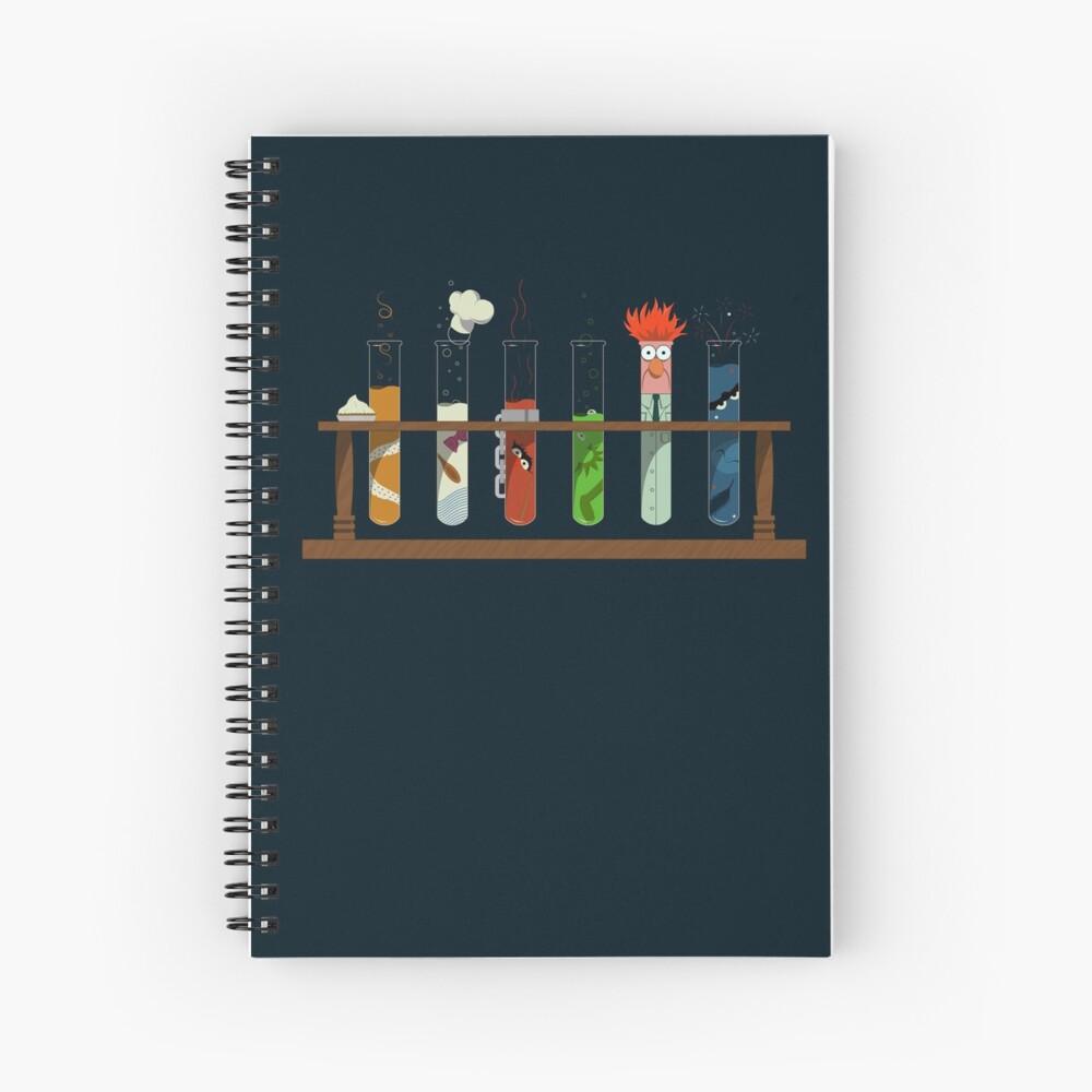 Muppet Science - Chemistry  Spiral Notebook