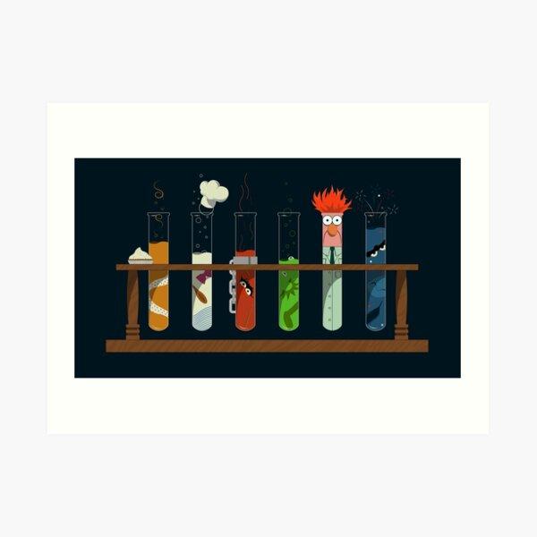 Muppet Science Art Print