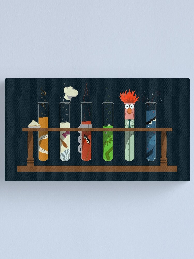 Alternate view of Muppet Science - Chemistry  Canvas Print