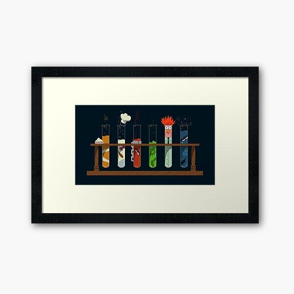 Muppet Science Framed Art Print