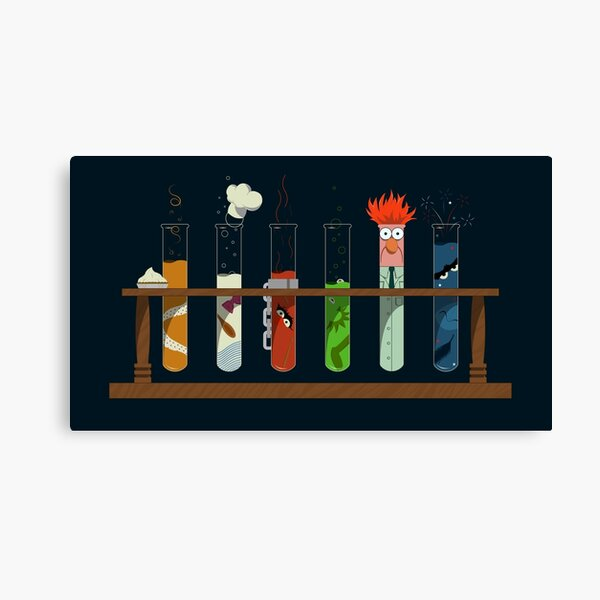 Muppet Science Canvas Print