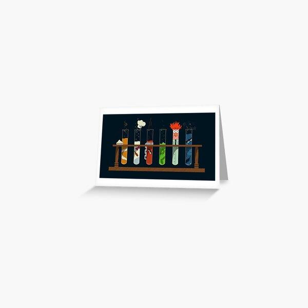 Muppet Science - Chimie Carte de vœux