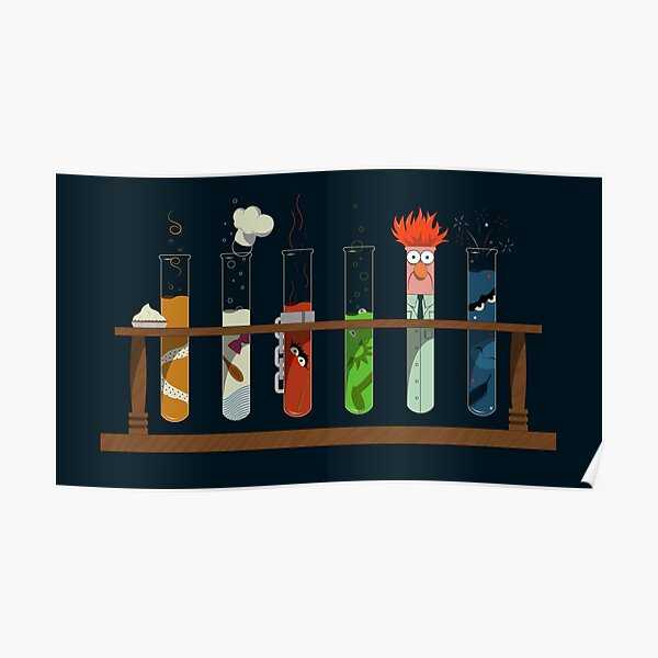 Muppet Science - Chemistry  Poster