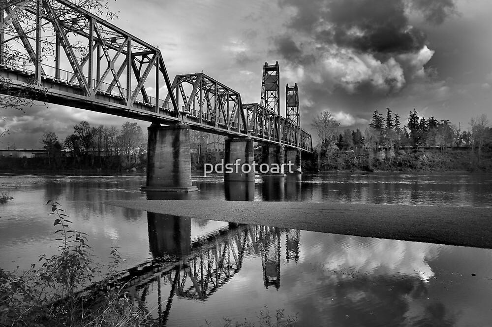 Old Rail Road Bridge by pdsfotoart