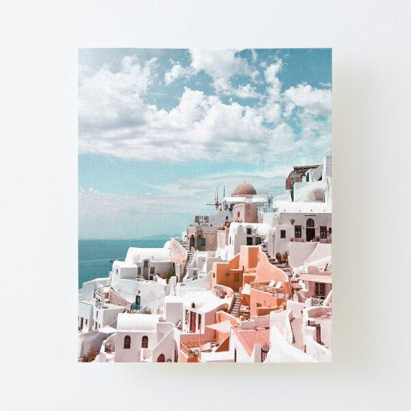Santorini Oia Greece Canvas Mounted Print