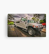 Road Train Canvas Print