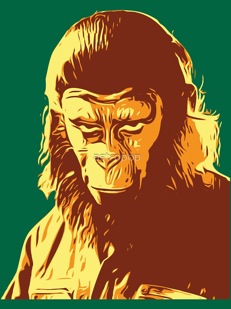 Planet Of The Apes T-Shirt by astropop
