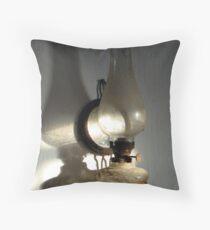 Lamp in retirment Throw Pillow