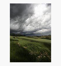 Greendale Storm Photographic Print