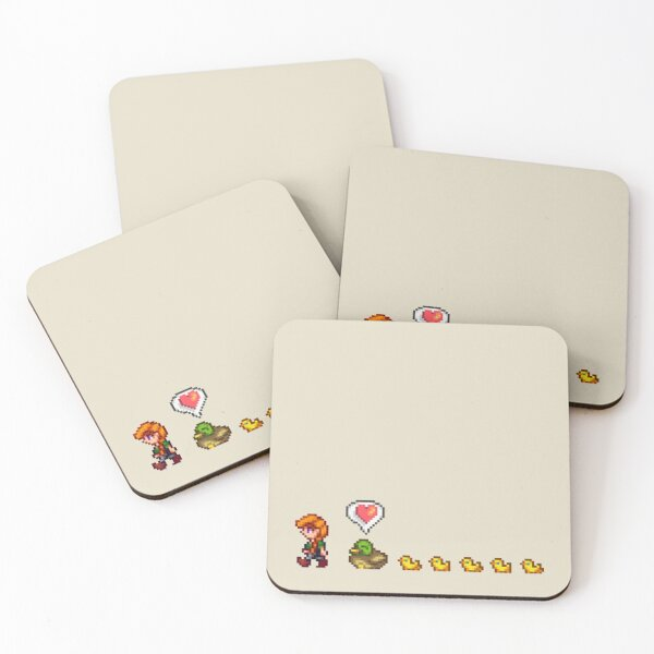 Ducklings of the Valley Coasters (Set of 4)