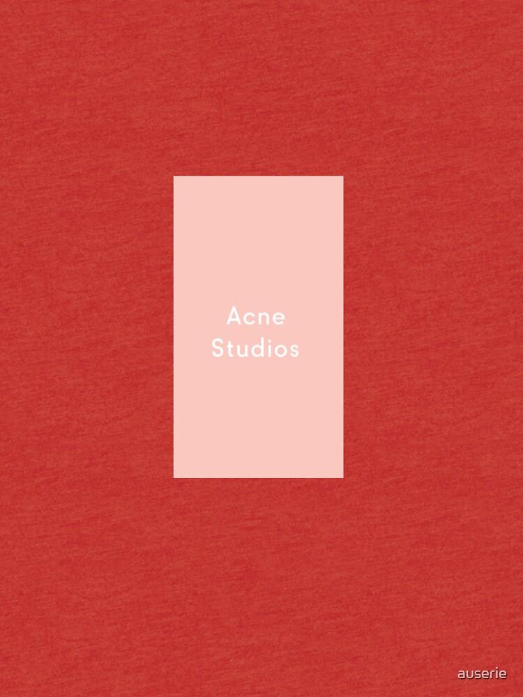 Akne-Studios von auserie