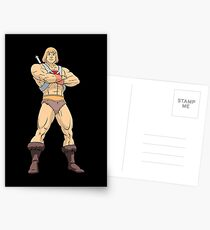 Masters Of The Universe He Man Postcards