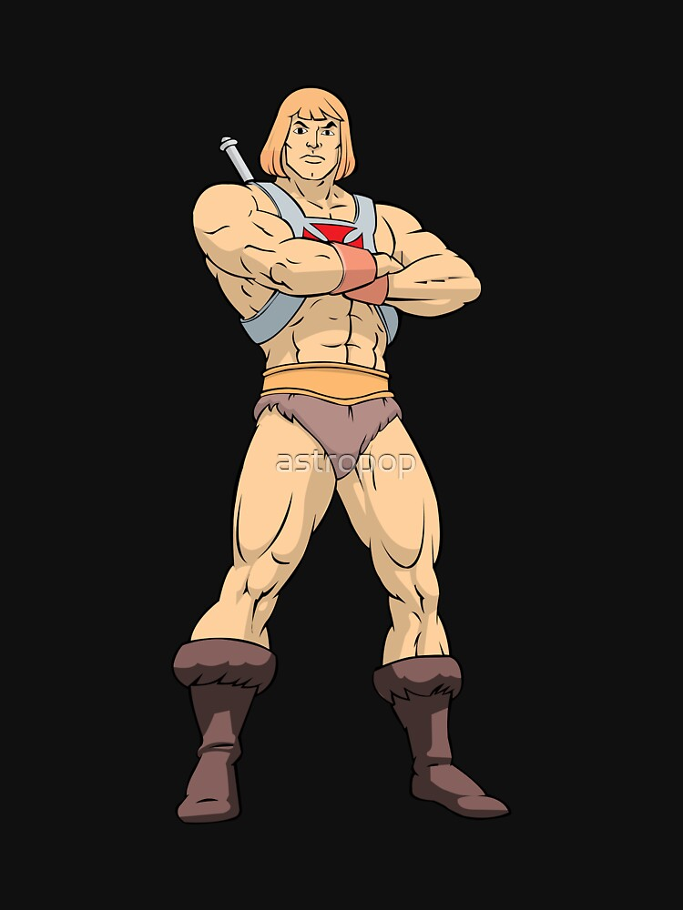 Masters Of The Universe He Man by astropop