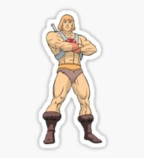 Masters Of The Universe He Man Sticker