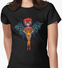 Plasma Womens Fitted T-Shirt