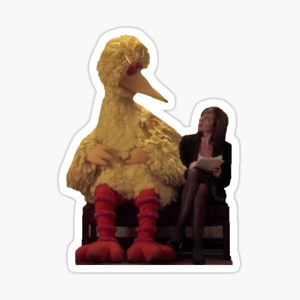 C.J. Cregg meets a friend - The West Wing Sticker
