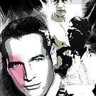 Paul Newman by celebrityart