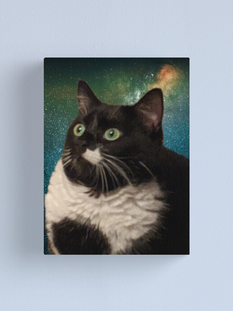Alternate view of Truth Cat Canvas Print