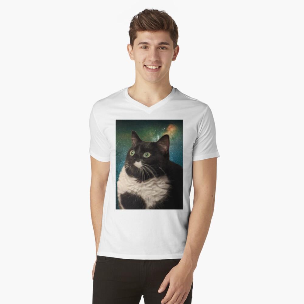 Truth Cat V-Neck T-Shirt