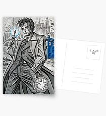 The Tenth Doctor  Postcards