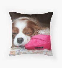 Peaceful Joy ~ Cavalier King Charles Spaniel Throw Pillow