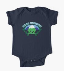 NEW ZEALAND map with NZ NICE BUMPS Kids Clothes