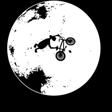 Trucos extraterrestres de la luna BMX de ET de astropop