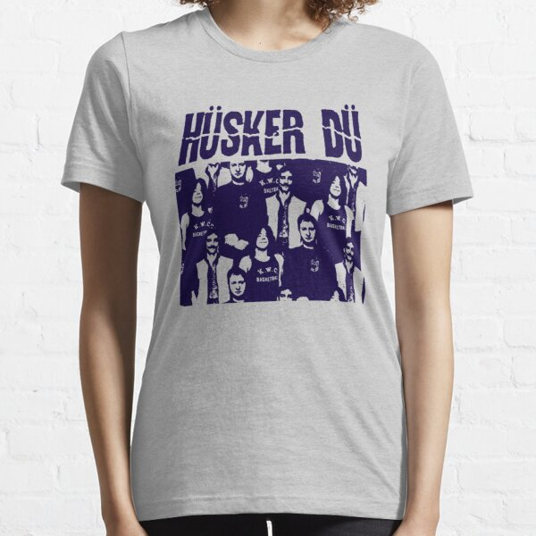Husker Du - The Blue Stencil Essential T-Shirt
